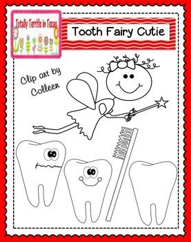 Tooth Fairy Cutie Clip Art