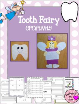 Tooth Fairy (Dental Health) Craftivity & Printables
