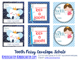 Tooth Fairy Envelope Labels