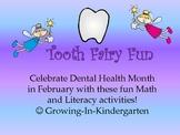 Tooth Fairy Fun-Math & Literacy