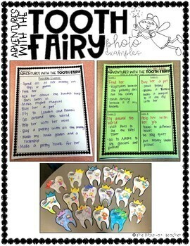 Tooth Fairy Imaginative Narrative and Craft
