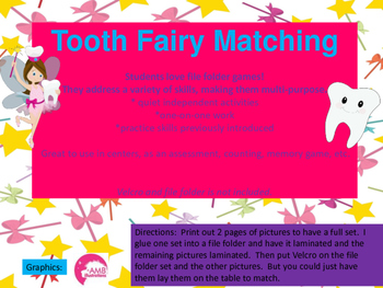 Tooth Fairy Matching