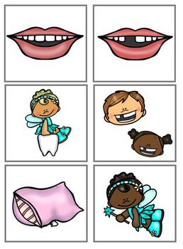Tooth Fairy Matching Tasks