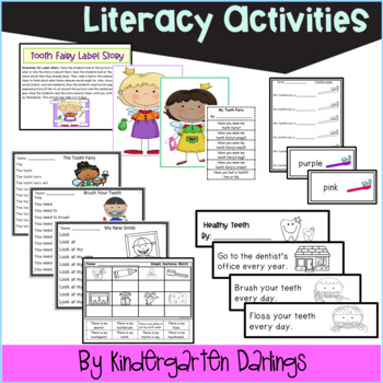 Tooth Fairy Math and Literacy Unit