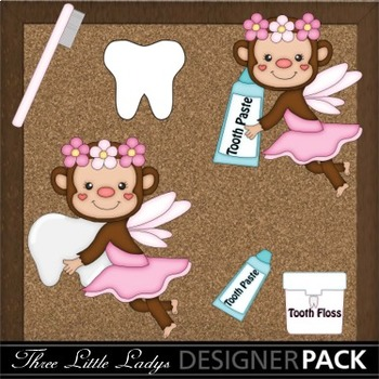 Tooth Fairy Monkey