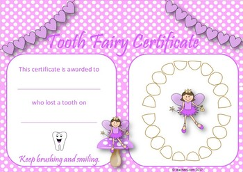 Tooth Fairy Pack Freebie