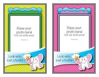 Tooth Fairy Picture Frames