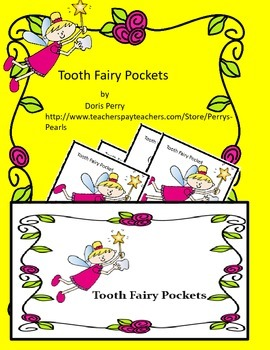 Tooth Fairy Pockets, certificates, display, and web links