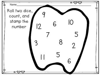 I Love My Teeth! Pre-K and Kindergarten Activities