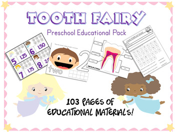 Tooth Fairy Preschool Educational Pack
