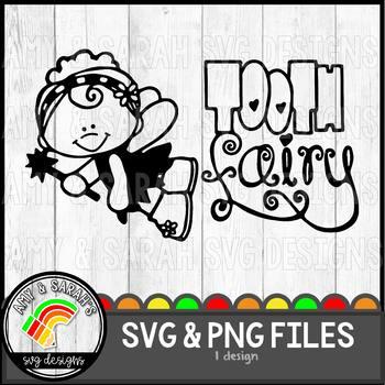 Tooth Fairy SVG Design