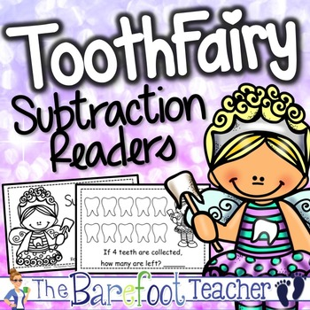 Tooth Fairy Subtraction Emergent Reader