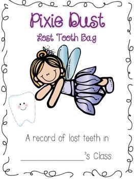 Tooth Fairy Take-Home Bag!