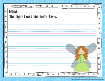 Tooth Fairy Writing Prompt