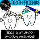Tooth Friends: Teeth Clipart {Creative Clips Clipart}