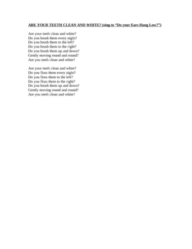 Tooth Poems