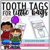 Tooth Tags for Little Bags
