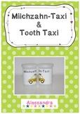 Tooth Taxi free printable / Milchzahn-Taxi Etikette
