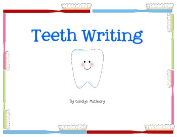 Tooth Writing (includes circle and tree maps)