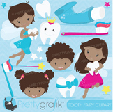 Tooth fairy clipart commercial use, vector graphics, digital - CL680