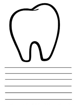 Tooth picture and writing frame