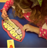 Toothbrush Bingo Letter Recognition Game