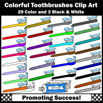 Toothbrush Clip Art, Toothpaste, Dental Health Teeth Clipart Toothbrushes SPS