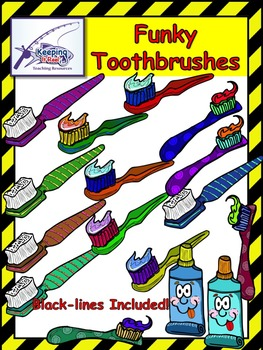 Toothbrushes Clipart