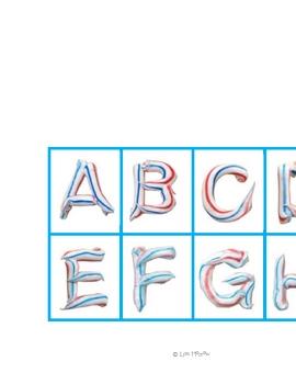 Toothpaste Alphabet Match