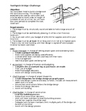 Toothpick Bridge STEM Challenge