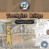 Toothpick Bridge -- Geometry & Engineering STEM - 21st Cen
