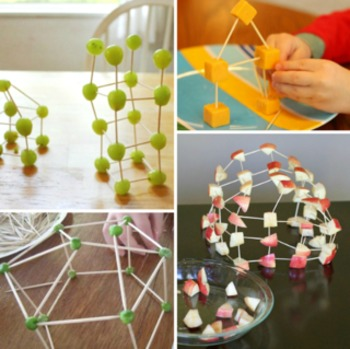 Toothpick Healthy Food Structures