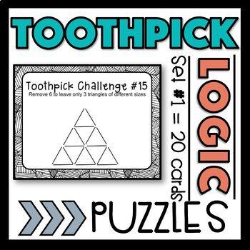 Toothpick Logic Puzzles