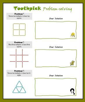 Toothpick Problem-solving