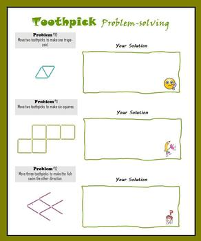 Toothpick Problem-solving