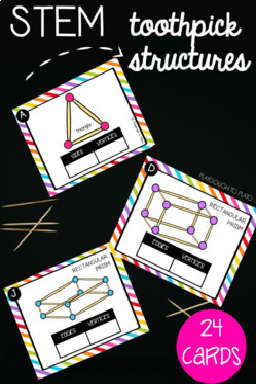 STEM Challenge: Build Toothpick Structures