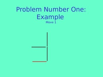 Toothpick puzzle
