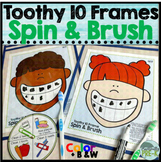 Teethy 10 Frames: Dentist Game + 10 Frame Task Cards