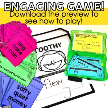 Grammar Toothy™ Task Kits | Games & Activities |Spiral Review Bundle