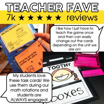 Grammar Toothy® Task Kits   Games & Activities  Spiral Review Bundle