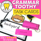 Grammar Toothy® Task Kits | Games & Activities |Spiral Review Bundle
