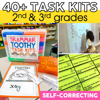 Grammar Toothy® Task Kits | Grammar Activities