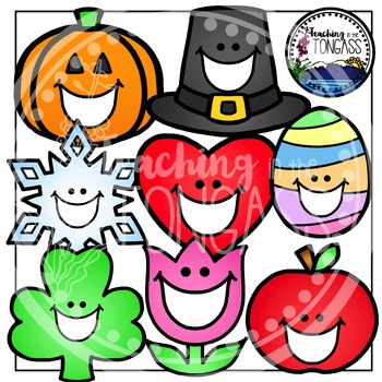 Toothy Holiday Clipart