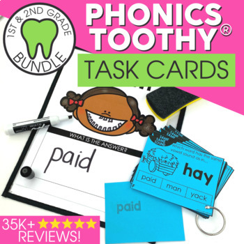 Phonics Toothy® Task Kits   Games & Activities   Spiral Review Bundle