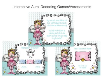 Toothy Rhythms!  A Collection of rest activities, worksheets & assessments