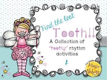 Toothy Rhythms!  A Collection of rest activities, workshee