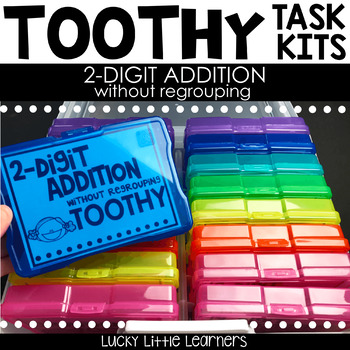 Toothy™ Task Kits - 2-Digit Addition without Regrouping