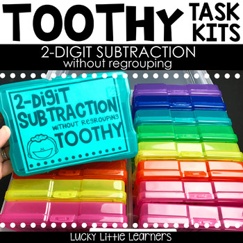 Toothy™ Task Kits - 2-Digit Subtraction without Regrouping