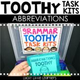 Abbreviations Toothy™ Task Kits