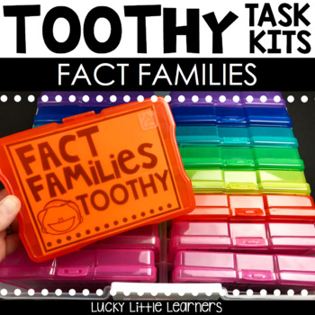 Toothy™ Task Kits - Fact Families